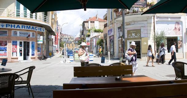 Бургас. Пешеходна зона