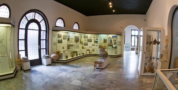 Археологическия музей. Зала