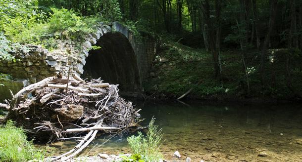 Мостът над Резовска река