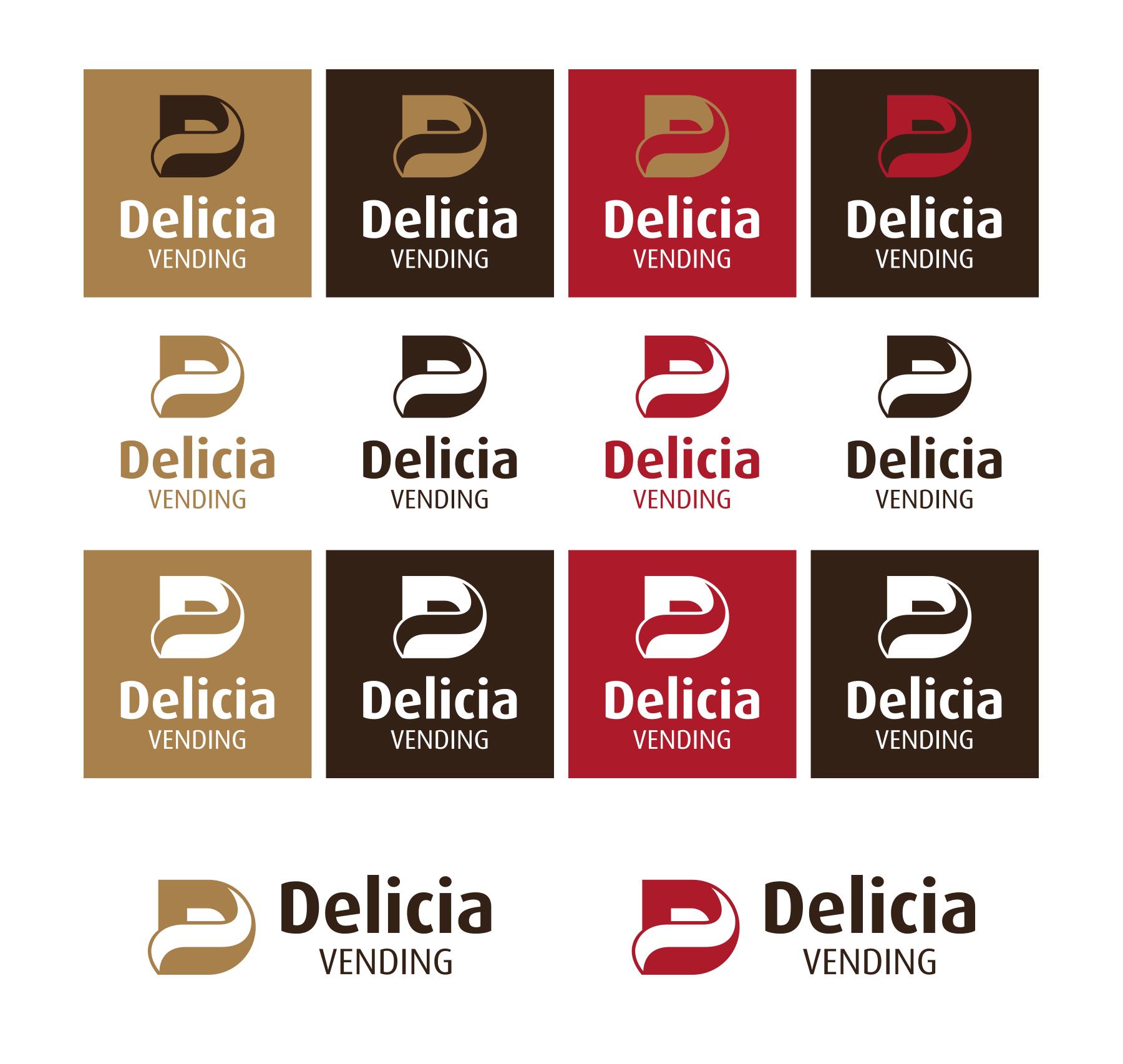 Цветни варианти Delicia Vending.
