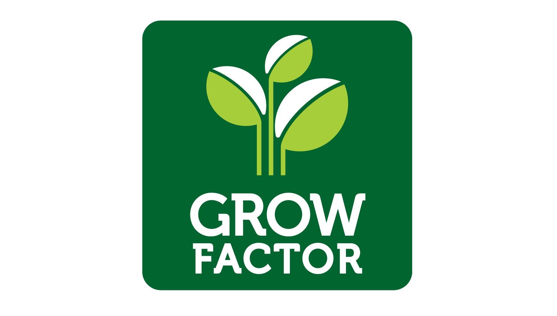 Търговска марка Grow Factor.
