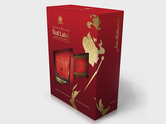 Johnnie Walker promo box. Designand prepress. Client: A-Team