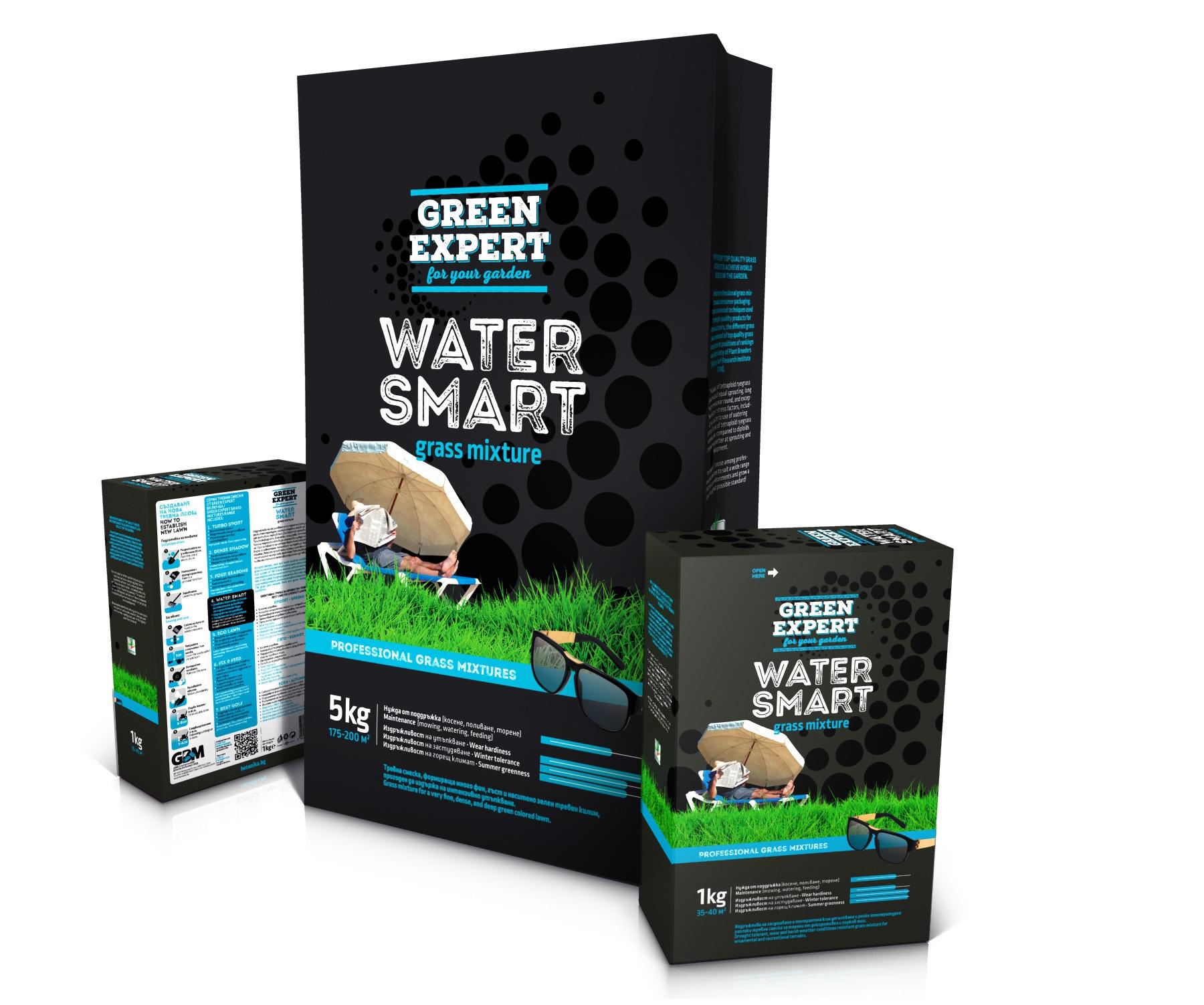 Green Expert Water Smart упаковки