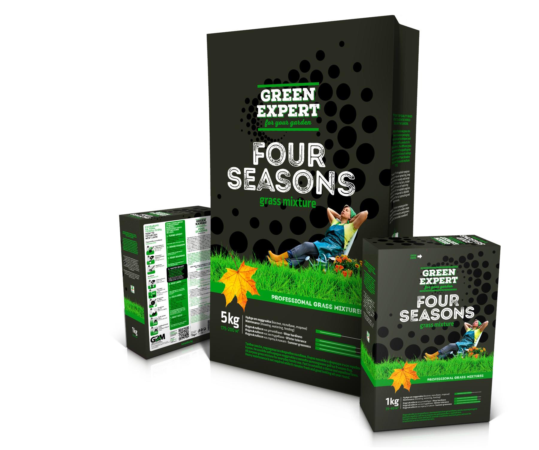 Green Expert Four Seasons упаковки
