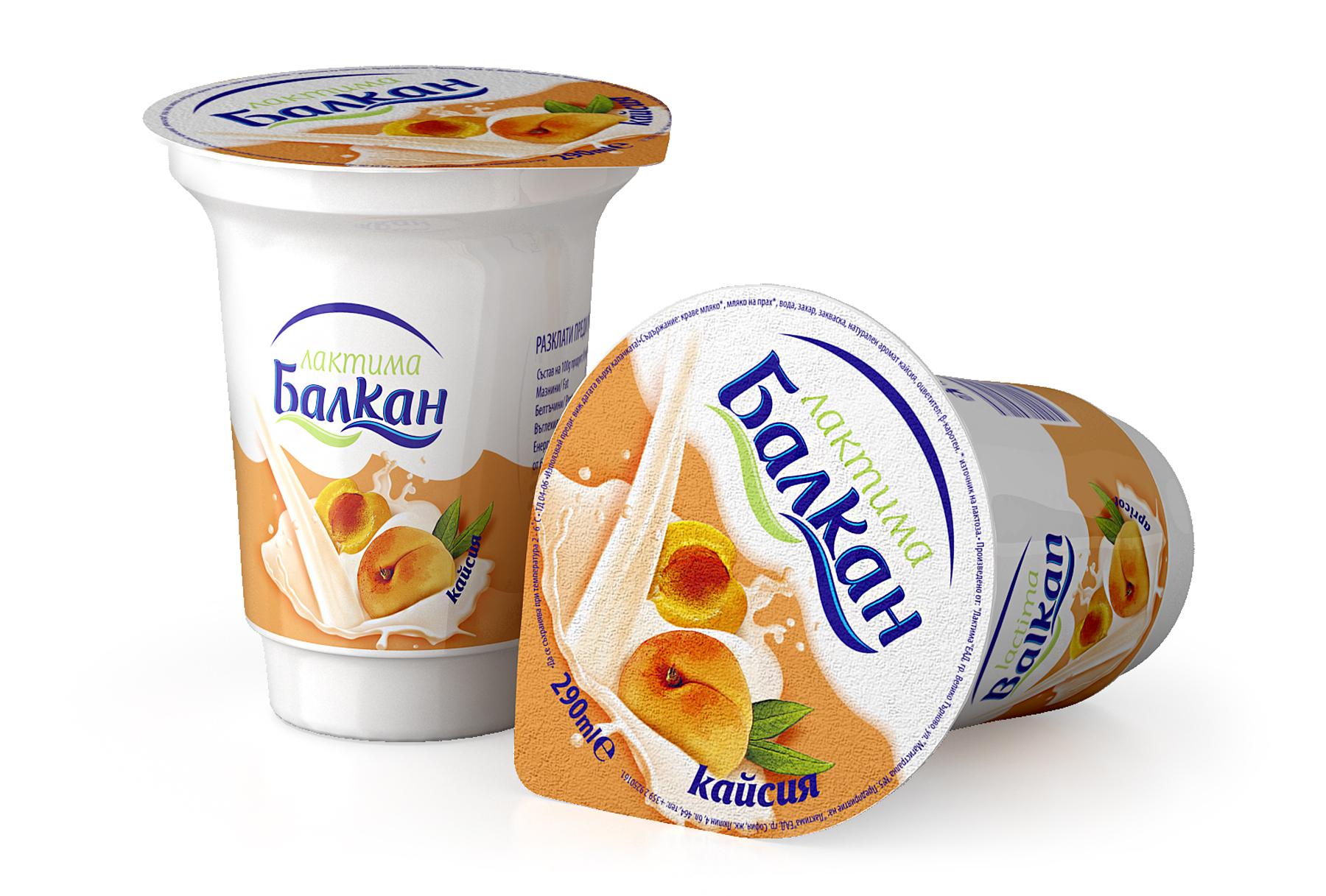 Плодово мляко с вкус на кайсия