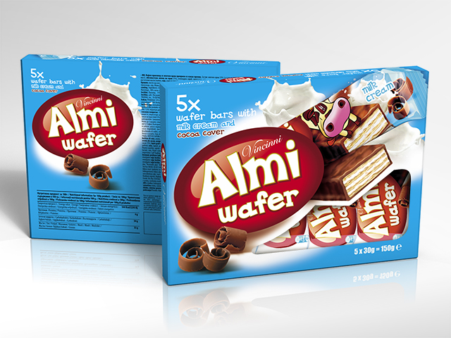 Almi Wafer кутия