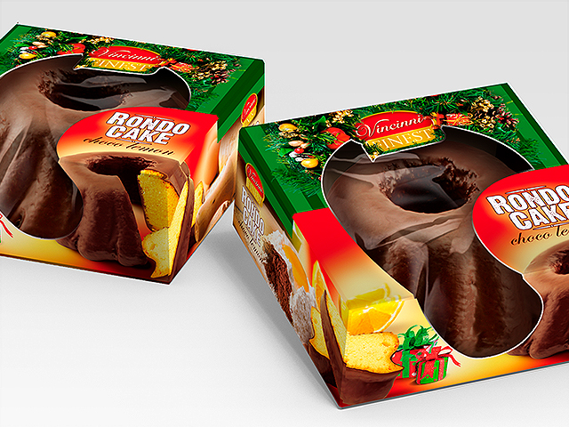Коледен Rondo cake
