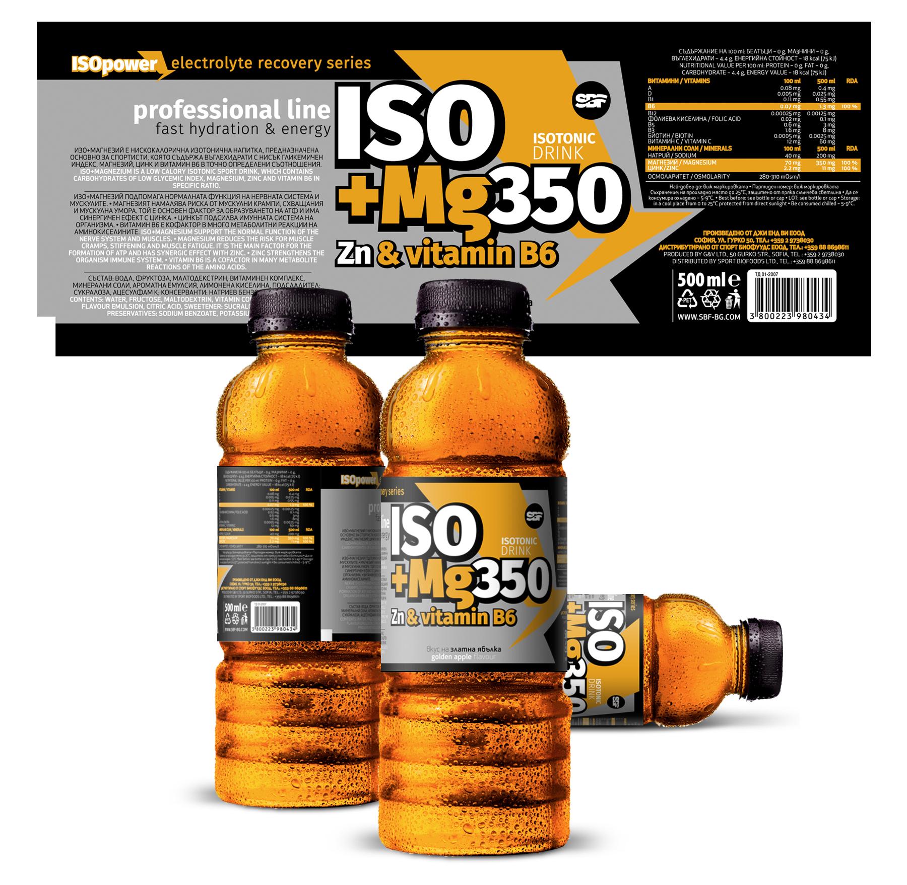 Iso +Mg350, Zn & vitamin B6