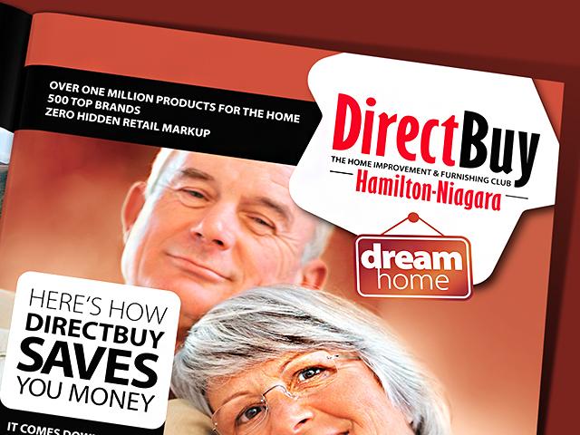 DirectBuy. Печатна реклама.