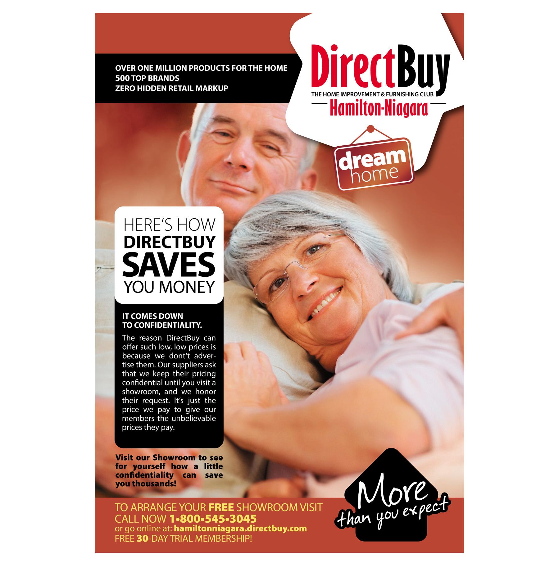 Рекламна страница за DirectBuy